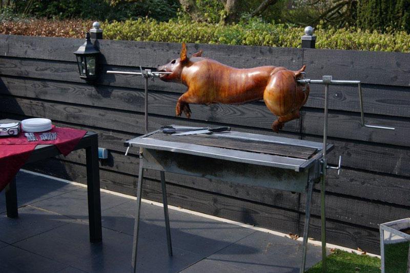 varken_aan_het_spit_harderwijk